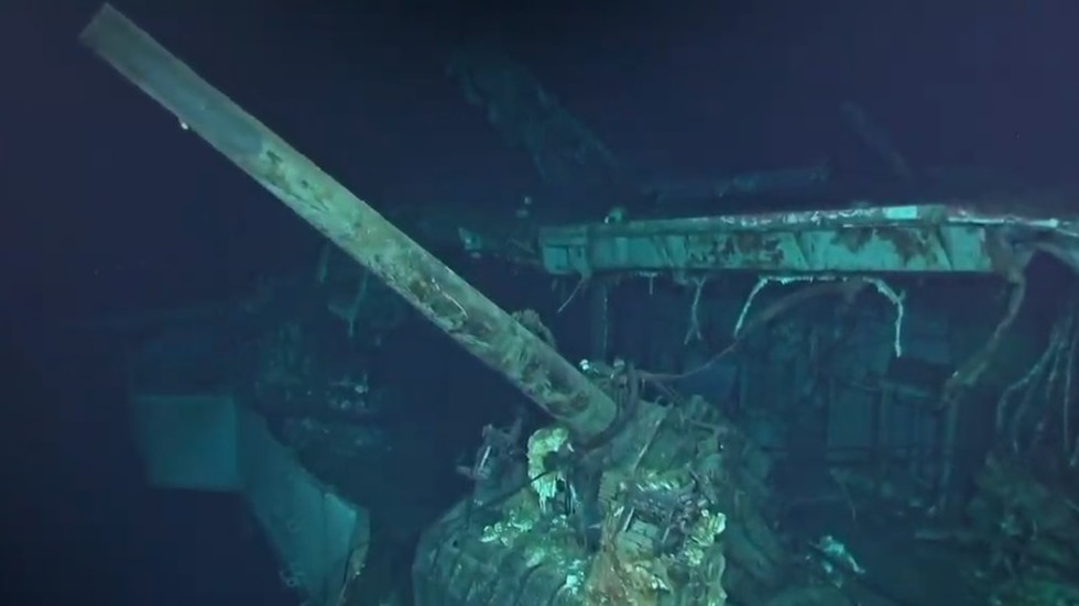 Wreck of aircraft carrier behind WW2 'Doolittle Raid' found on Pacific Ocean floor (PHOTOS)