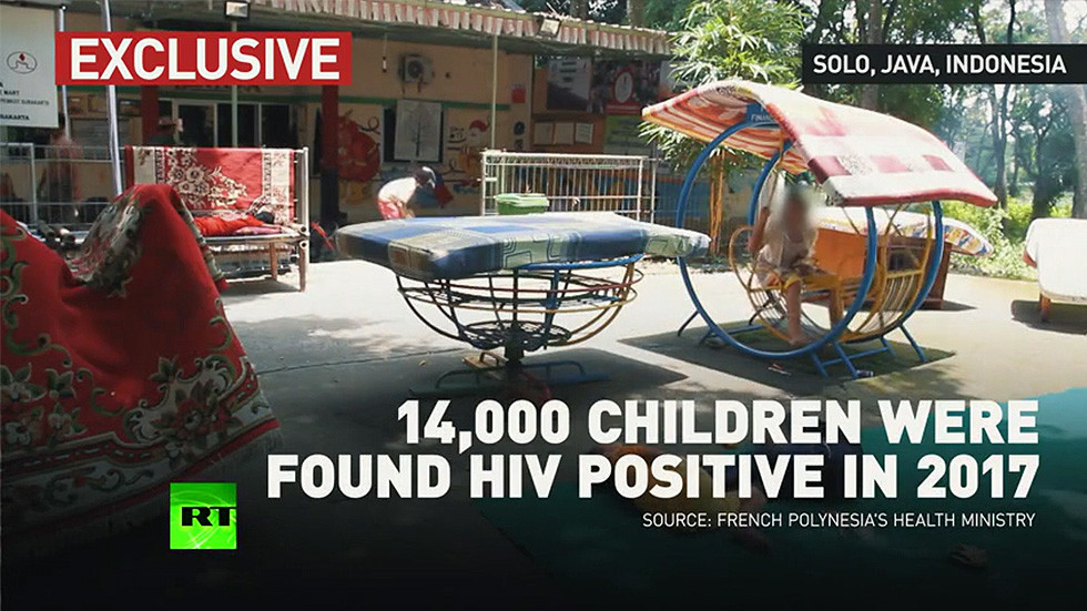 Ostracized for being HIV-positive: Orphans kicked out of Indonesian school speak with RT