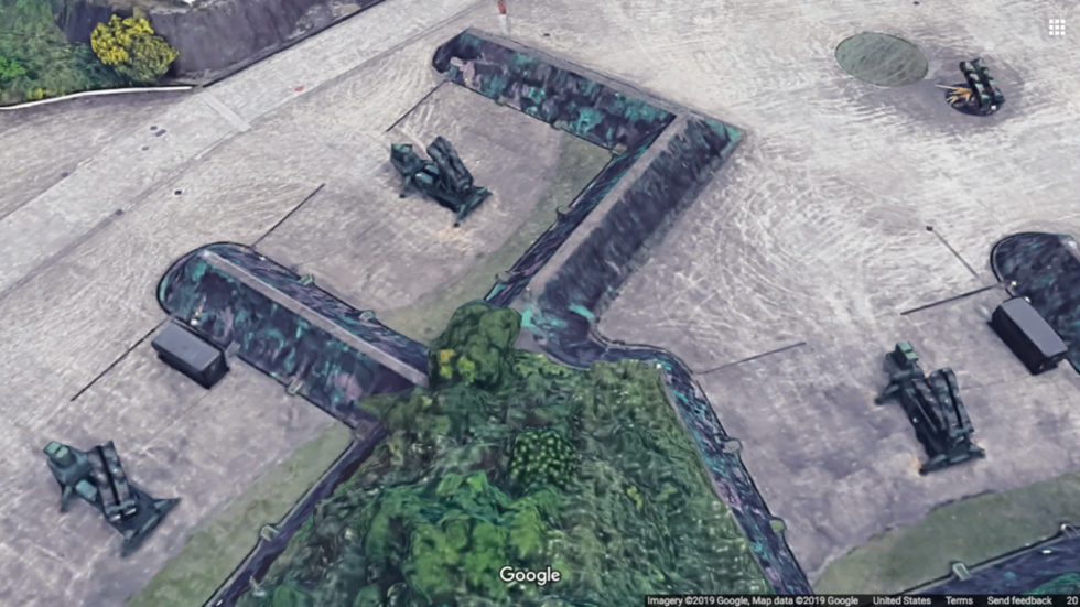 Oops: Google Maps reveals Patriot missile launch sites in Taiwan
