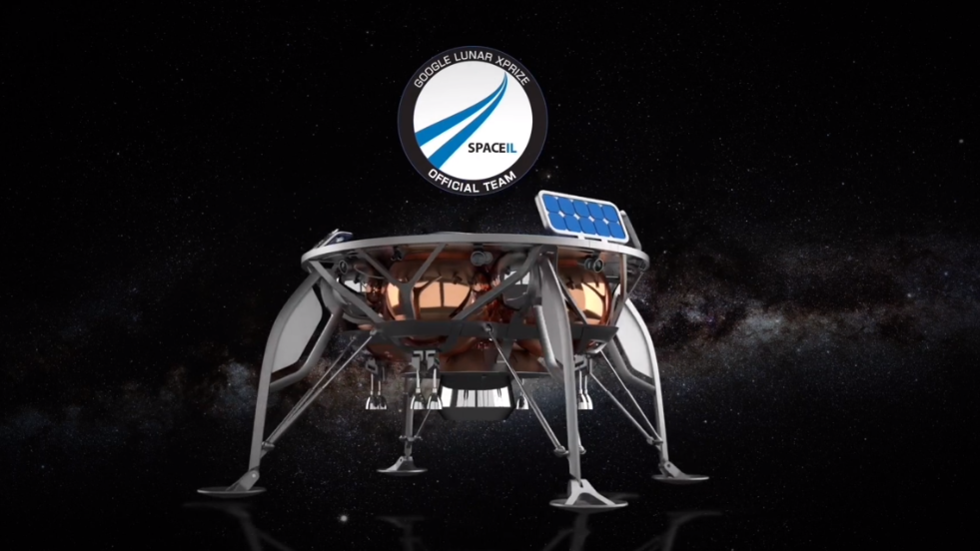 Israel aims for Moon with $100 million private space probe & Bible on board