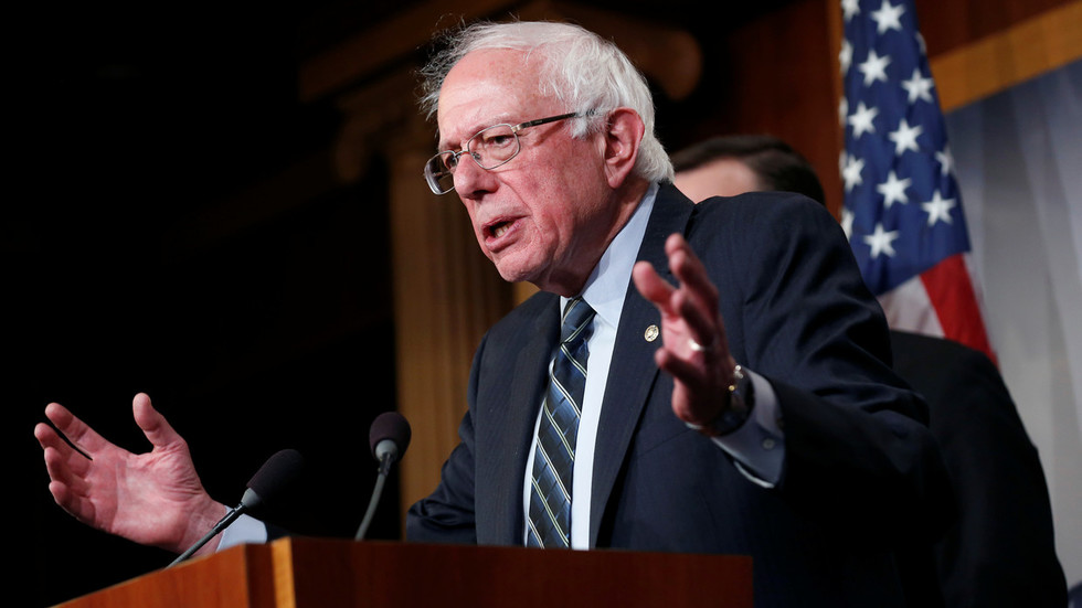 Bernie Sanders raises $6mn on first day of campaign...and former Clinton staffer blames Russia