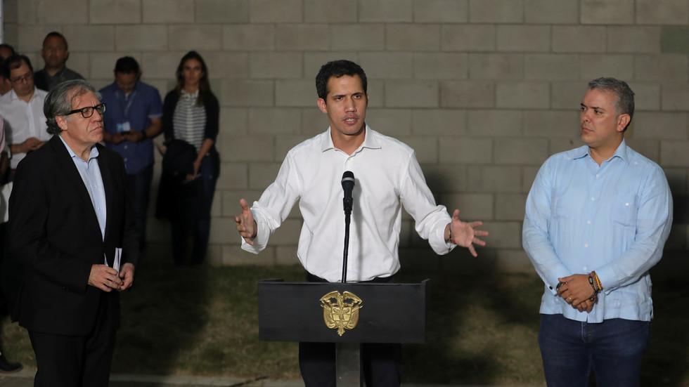 Pence to meet Venezuela's Guaido at Lima Group gathering seeking to sanction & isolate Maduro