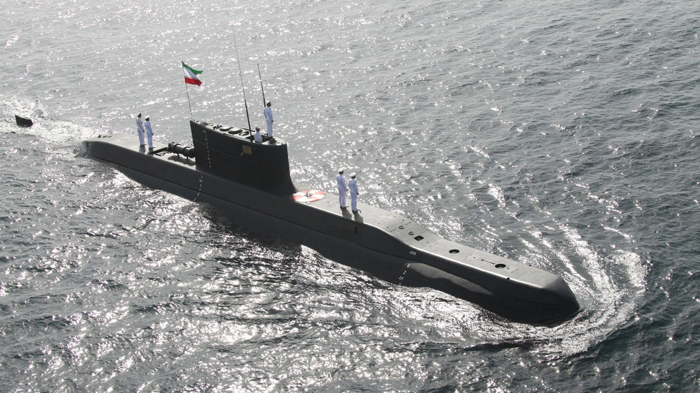 WATCH Iran fire cruise missile from deep water for first time amid tension with US