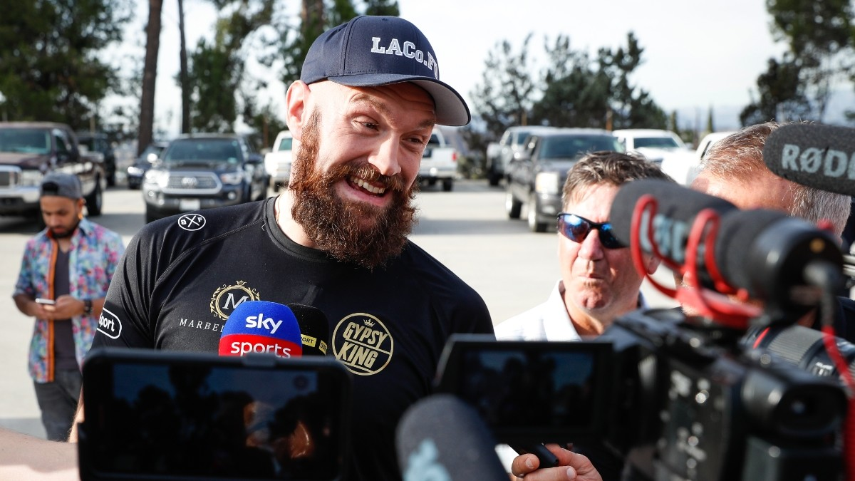 Tyson Fury Signs Exclusive Deal With ESPN, Casting Shade On Wilder Rematch