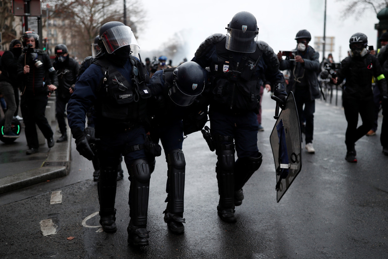 We became guardians of law': French govt 'exploits' police