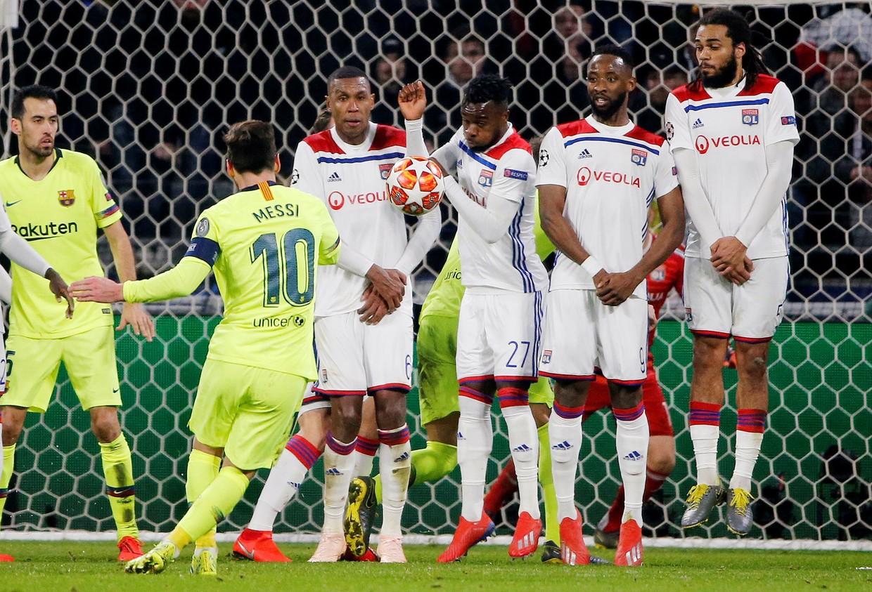 Lyon vs. Barcelona - Football Match Report