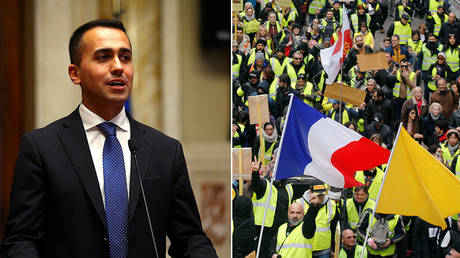 'Winds of change crossed the Alps': Italy's deputy PM meets Yellow Vest leaders