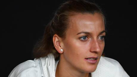 Czech Republic's Petra Kvitova © AFP / Paul Crock