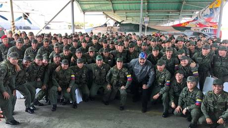 'Make the right choice!' US offers sanctions relief to Venezuelan officers who flip on Maduro