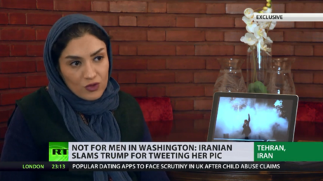 Iranian photographer whose image Trump used to attack Iran says it's a 'great shame' for her