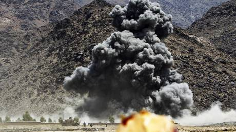 Mixed messages? US drops record number of bombs on Afghanistan amid peace efforts with Taliban