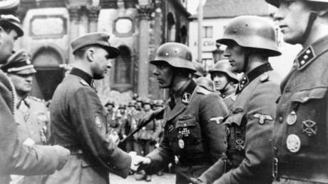 Belgian Waffen SS volunteers © Wikimedia Commons