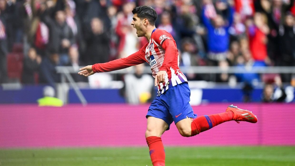 He left his class at Chelsea': Morata trolled for celebrating ...