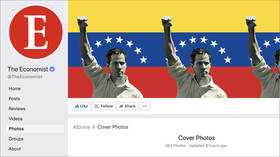 Je suis Guaido? Economist endorses Venezuela coup leader with Facebook profile change