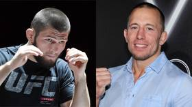 GSP v Khabib: Georges St-Pierre reveals attempts to book UFC fight with Nurmagomedov