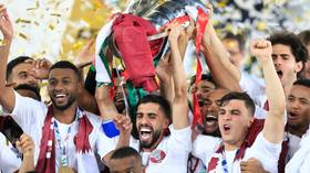 Ali's acrobatics: Striker scores stunner as Qatar shock Japan in Asian Cup Final