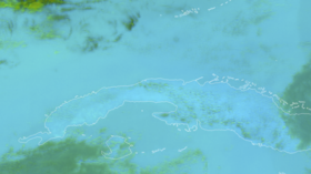 Moment meteor hit Cuba caught on satellite camera (VIDEO)