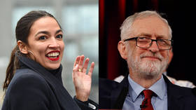 Transatlantic socialist love-in? Ocasio-Cortez and UK's Corbyn share 'lovely' phone call
