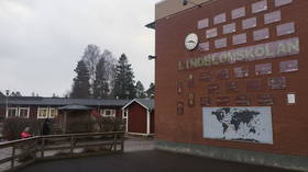 Lindblom school in Hultsfred, Sweden