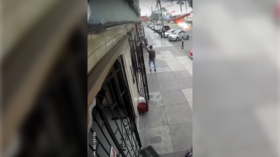 Quick-thinking pilots narrowly avoid disaster during crash landing on Lima city streets (VIDEO)