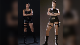 Bryzgalova or Jolie? Hottest Russian curler takes up role of Tomb Raider (PHOTOS)
