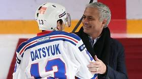 'It's great that he attended the game': Ice hockey stars praise Mourinho for KHL visit