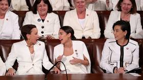 Shaking in his capitalist boots? Ocasio-Cortez says anti-socialism screed shows Trump is 'scared'