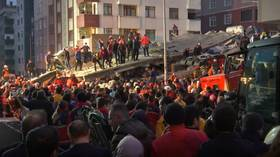 Multiple deaths after apartment block collapses in Istanbul (VIDEOS)