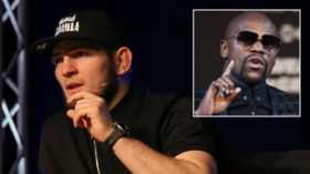 'Summer, Moscow, Luzhniki': Khabib once again fuels talk about Mayweather fight