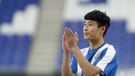 'China's Maradona': 40mn people watch Wu Lei make debut for Spanish team Espanyol