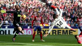 'He doesn't score bad goals': Casemiro overhead kick helps Real Madrid to derby win over Atletico