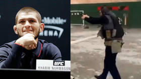 'Pray he has no plans for children': Internet recoils at below-the-belt kick on Russian MMA fighter