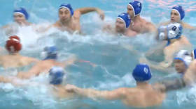 Polo pool punch-up! Mass brawl halts Russian water polo match (VIDEO)
