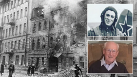 88yo WWII veteran heroically revisits Siege of Leningrad horrors on YouTube