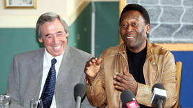 'I'm glad he saved my header!': Pele says tribute to 'fine human being' and friend Gordon Banks