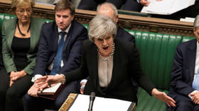 May mocked after claiming 'I wanted Brexit sorted by Christmas,' as SNP's Blackford calls her a liar
