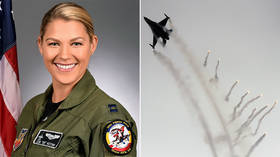 First female commander of F-16 demo squad fired after 2 weeks over… inability to command