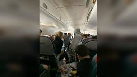Utter chaos captured on board California flight that NOSE-DIVED twice, sending 3 to hospital (VIDEO)