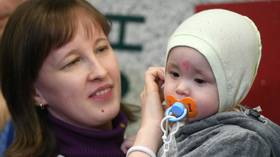 Russian toddler who survived 30 winter hours under rubble of collapsed building comes home