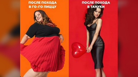 Fat girls eat pizza, hotties sip miso: Japanese food chain in Russia apologizes for 'provocative' ad