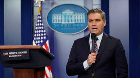 CNN's Jim Acosta tweets vital news that Trump 'put on 4 pounds'... and gets savaged in replies