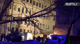 Over 85 rescued after several floors collapse at university in St. Petersburg (VIDEOS)