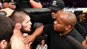 Khabib steps up preparations for rumored boxing mega-fight with latest training VIDEO