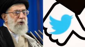 Selective censure? Twitter hides Iran leader's post citing Rushdi death fatwa in rare policy move