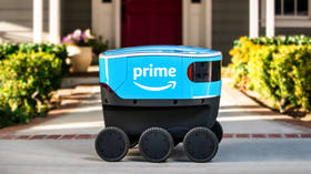 'Can't wait till this thing is looted': Twitter users plan Amazon delivery bot's take-down