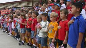 11yo arrested after refusing to stand for Pledge of Allegiance to 'racist' flag in Florida