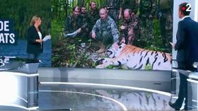 Putin's 'tiger hunt' story by France 2 wins award for fake news