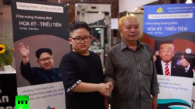 Want to look like Trump or Kim Jong-un? A Hanoi hairdresser can make your dreams a reality (VIDEO)