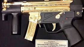Man with the golden submachine gun: Pakistan gifts Saudi prince MBS gold-plated carbine