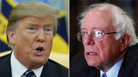 'Liar' Trump and 'Crazy' Bernie Sanders already in fundraising battle for 2020